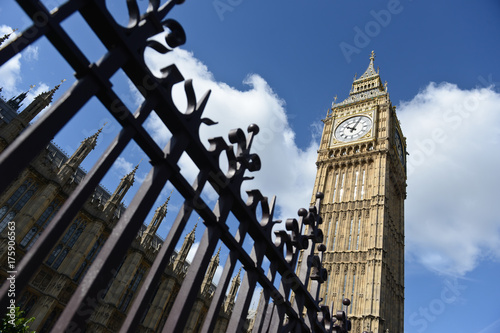 In de dag Londen Londres Angleterre anglais brexit EU UE europe britannique London Livre sterling euro Big Ben Parlement Westminster union jack
