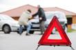 Autounfall, Streit der Fahrer wer Schuld hat