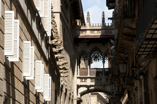Gothic Quarter - Barcelona - Spain