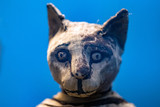 egyptian mummy cat found inside tomb - 175916117