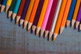 colorful pencils - 175923124