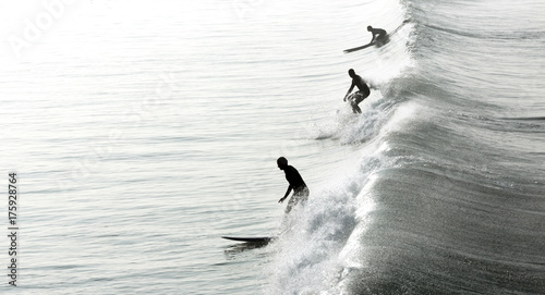 Surfers in California - 175928764