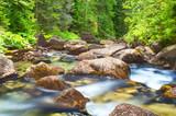 Mountain stream in High Tatras National Park, Slovakia - 175929998