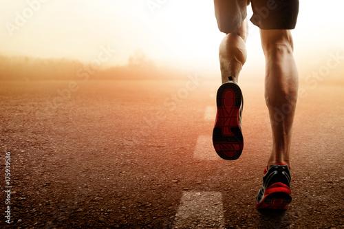 Fototapeta Man running