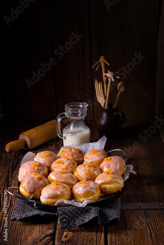 a tasty Berliner (doughnut) Poster