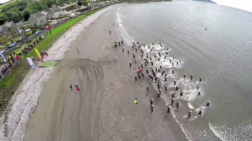 Aluminium Donkergrijs Triathlon in Ireland