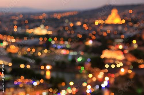 Blurred night city - 175959587