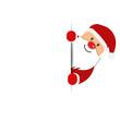 Weihnachtsmann Weihnachtskarte - 175966917