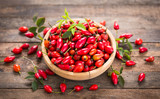 Rose hip in the bowl - 175967528