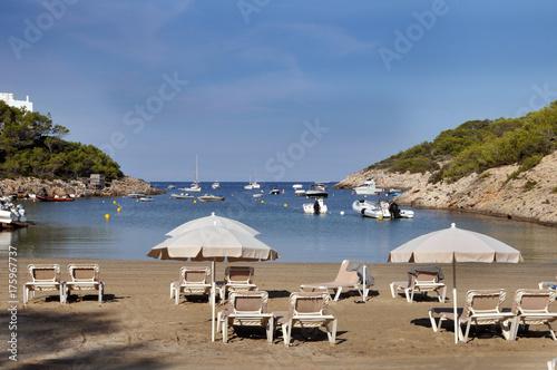 Strand bei Portinatx auf Ibiza