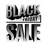Black Friday holiday 3d lettering banner - 175994555