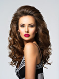 Young pretty woman with long hair - 175999374