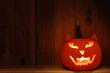 Handmade and creative pumpkin for Halloween