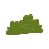 bush green plant icon vector illustration graphic design - 176001786