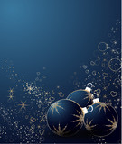 Abstract Christmas background for design