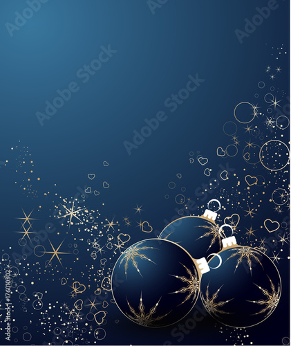 Fridge magnet Abstract Christmas background for design