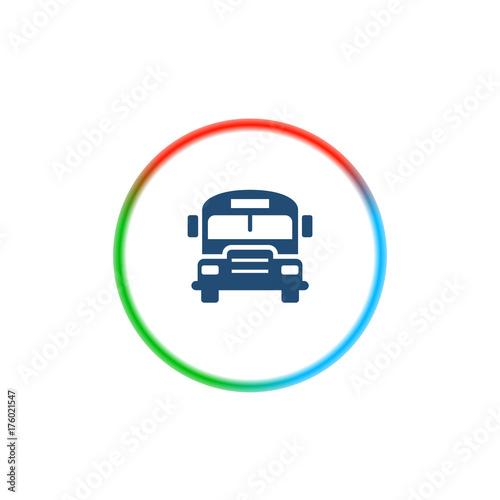 Fotobehang Auto Rainbow Style App Icon