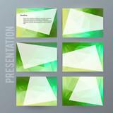 Horizontal banner background Design element powerpoint precentation05
