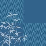 竹 和柄 和風