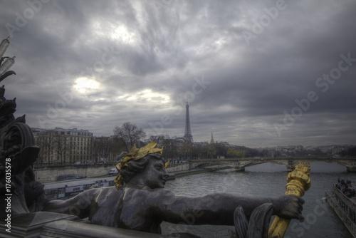 Deurstickers Parijs France