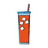 fruit juice icon image vector illustration design