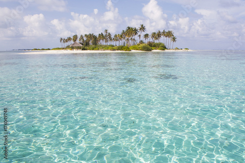 Staande foto Tropical strand Paradise Island , Maldives