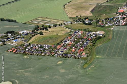 Tuinposter Khaki Hansestadt Greifswald, Chausseesiedlung