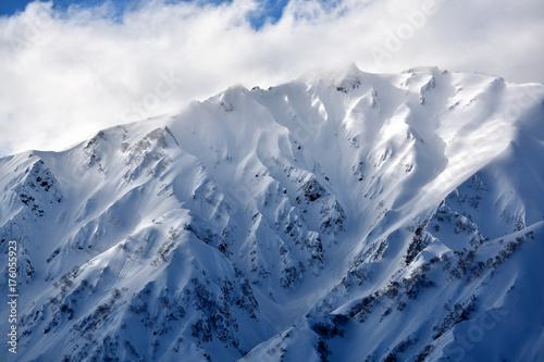 白馬五竜の山々 Poster