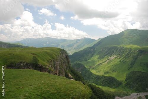 Foto op Plexiglas Wit landscape