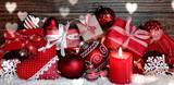 kleine Päckchen - Weihnachtsgeschenke mit Adventskerze - 176060385