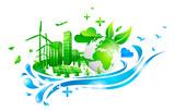 Ville & Développements durable - 176063753