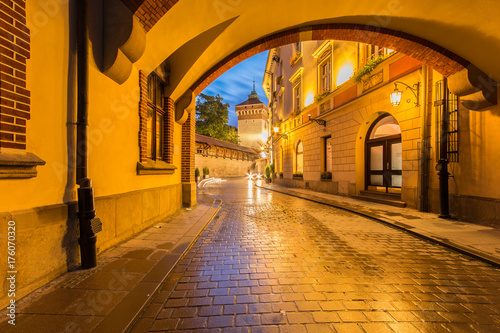 fototapeta na ścianę Brama Floriańska Kraków