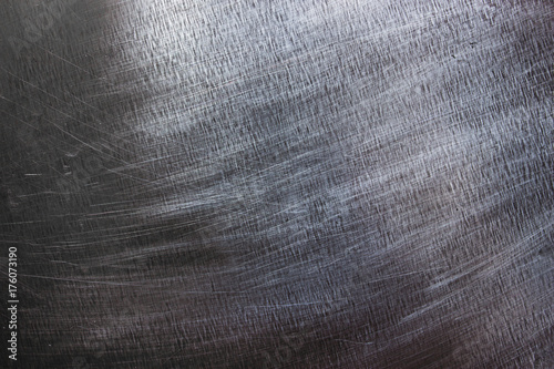 Metal texture, dark iron plate as background