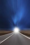 Straße mit hoher Geschwindigkeit - 176088756