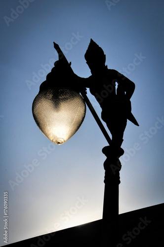 Buddha Lantern in Bangkok Poster
