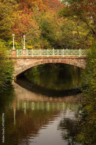 Fotobehang Bruggen Ponts in Strasbourg