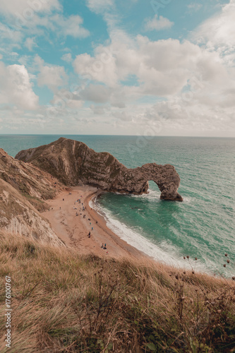 Jurassic Coast from Above Poster