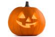 Quadro Halloween Pumpkin on white
