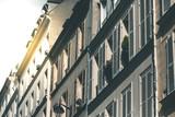 Fototapety House Fassades around Montmartre - Paris