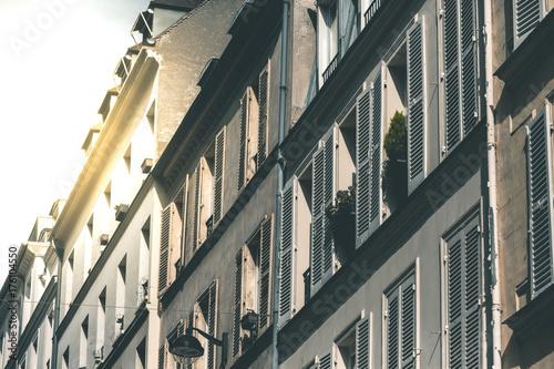Fridge magnet House Fassades around Montmartre - Paris