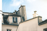 House Fassades around Montmartre - Paris
