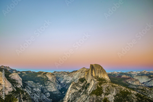 Glacier Point at Sunset Canvas Print