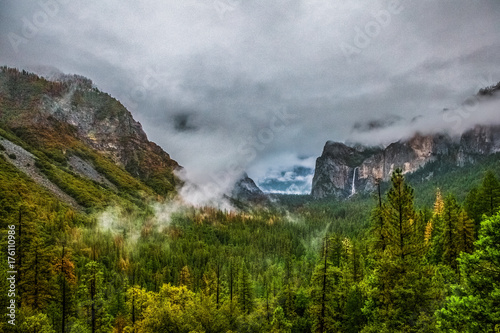 Tunnel View After A Storm Poster