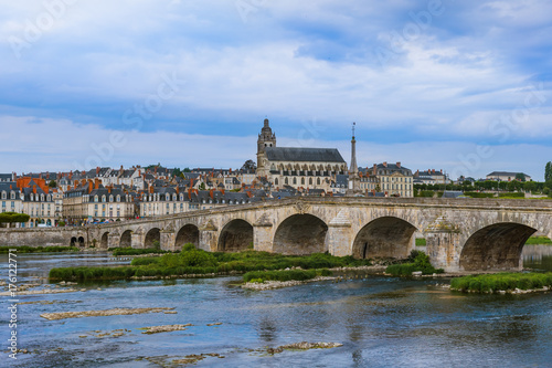 Blois castle in the Loire Valley - France Poster