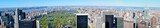 Panoramic View of Manhattan seen from rooftop