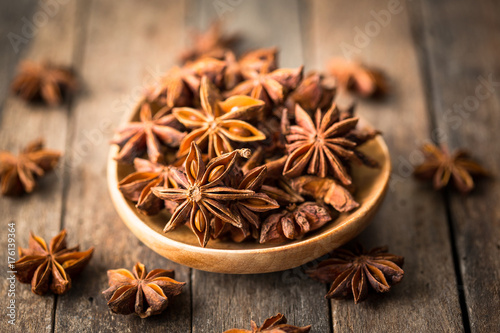 Star anise spice Poster