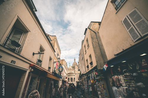 Streets of Montmartre - Paris