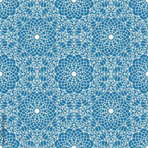Seamless boho syle pattern