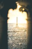 Evening Light on Tour Eiffel and the City - Paris - 176150301