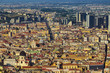 Quadro Italy. Historic Centre of Naples (UNESCO World Heritage Site) seen from Castle Sant'Elmo
